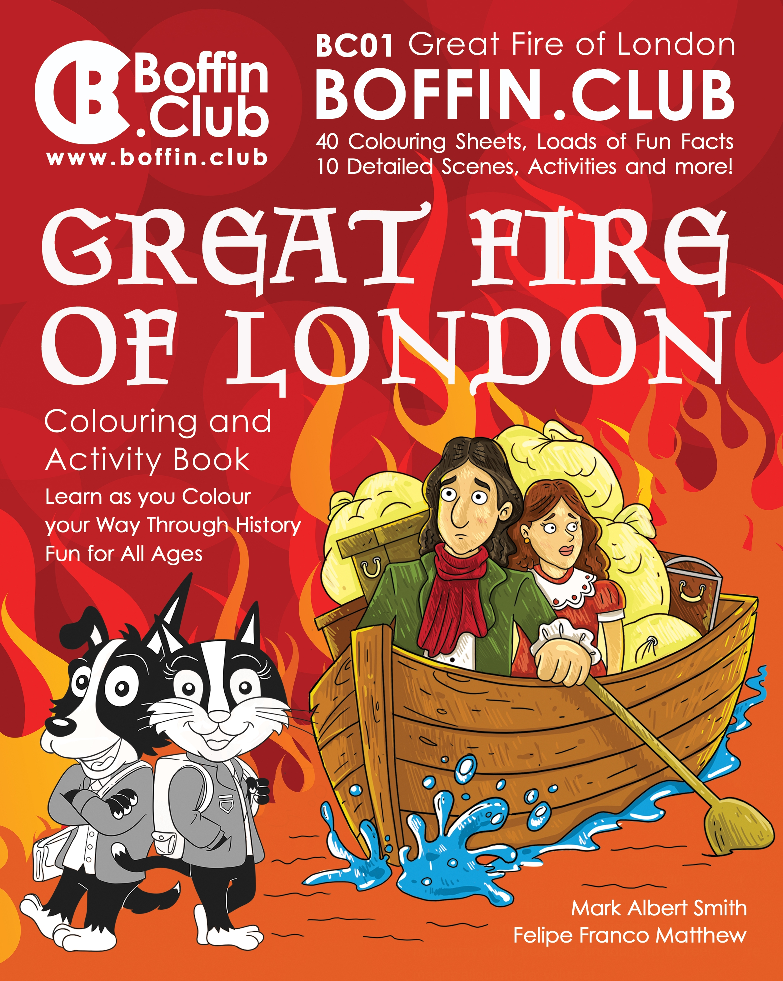 Great Fire Of London Colouring And Activity Book